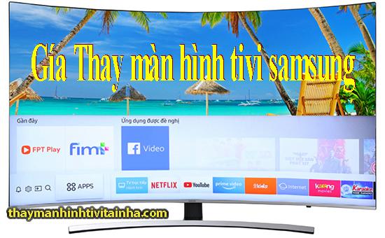 bảng giá thay màn hình tivii samsung